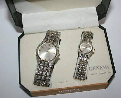 His And Hers Geneva Watches Classic Collection, Never Been Worn. • 24.99£