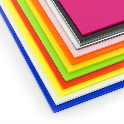 Acrylic Perspex Plastic Sheet Cut To Size 3mm A6 A5 A4 A3 Perspex Guard Screen • 5.49£