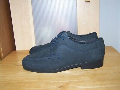 ROCKPORT Navy Blue Leather Lace Up Womens Shoes UK-6  EU-39,5 US-8,5 • 9.99£