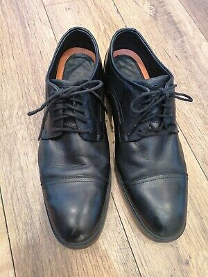 Mens Rockport Shoes Size 11 By Adidas Black Leather Casual Shoes  • 11.90£