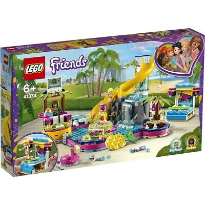 AU68 • Buy LEGO Friends Andrea's Pool Party - 41374