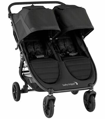 £362.87 • Buy Baby Jogger 2020 City Mini GT2 Double Stroller - Jet - NEW W/ TAGS!