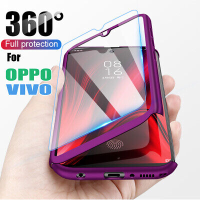 AU13.49 • Buy Luxury 360 Full Cover Phone Case For OPPO A72 A52 A9 2020 REALME C3 6i 5s 5i 5