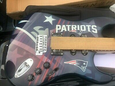 $ CDN603.05 • Buy 215 Of 250 NEW ENGLAND PATRIOTS  Woodrow NorthEnder Electric Guitar W/CASE/STAND