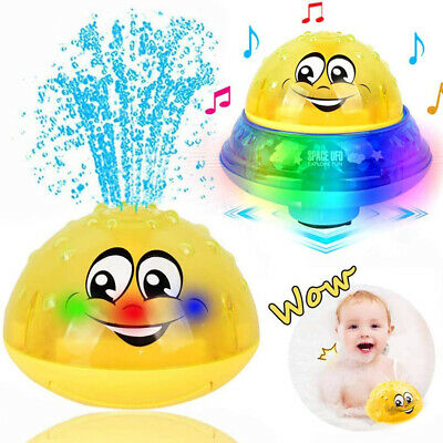 Baby Bath Toys For Toddlers Space Water Spray Toy With Music And Flashing Lights • 9.99£