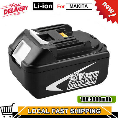 For Makita BL1845 18V Compact Drill Lithium-Ion 5.0Ah Replacement Battery New • 15.89£