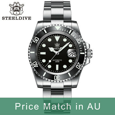 $ CDN176.35 • Buy Steeldive SD1953, SUB 2020 Version, NH35, AR Sapphire, Lume, 300m Diver, BNIB