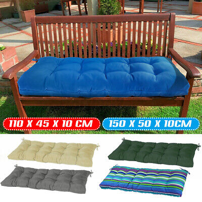 £29.99 • Buy Garden Pation Swing Bench Cushion 2-3 Seater Indoor & Outdoor Furniture Seat Pad