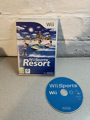 Nintendo Wii - Wii Sports And Wii Sports Resort Game - Used But Good • 10£