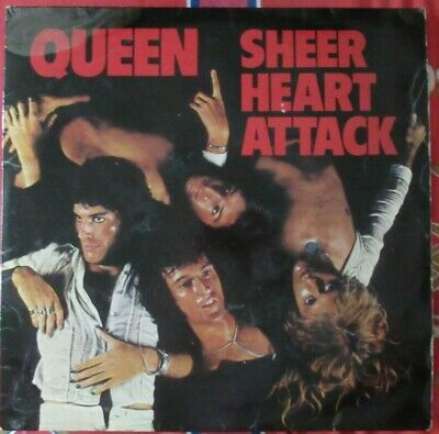 Queen - Sheer Heart Attack LP EMC 3061 (PLEASE READ DETAILS) • 20£