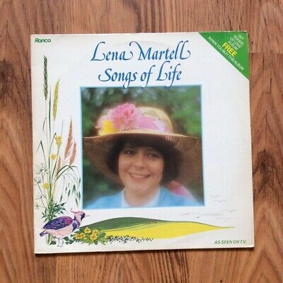 "Lena Martell - Songs Of Life 12"" Vinyl Record • 3£"