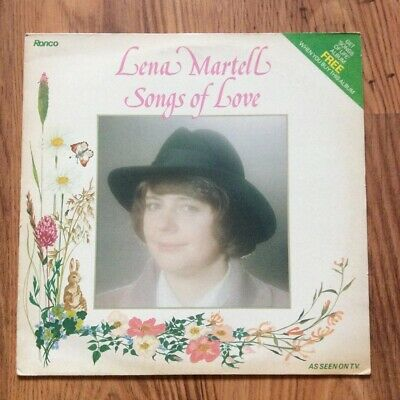 "Lena Martell - Songs Of Love 12"" Vinyl Record • 3£"