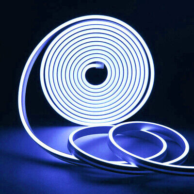 $10.89 • Buy 164FT 12V Flexible Xmas LED Neon Strip Lights Silicone Tube Waterproof 8 Colors
