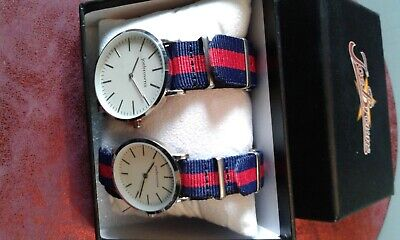 Joe Browns His N Hers Funky Designer Matching Watches, NEW, Gift Boxed • 15£