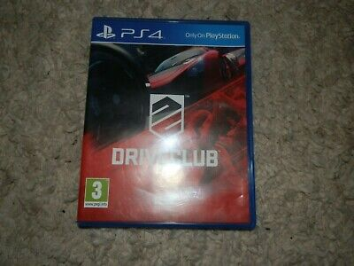 Drive Club PS4, Preowned And In Good Condition • 5£