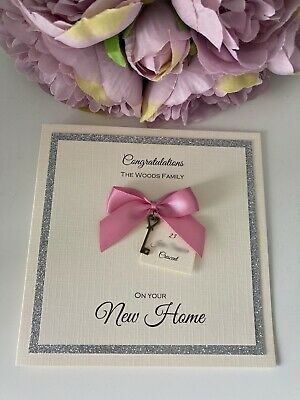 Personalised New Home Card • 3.50£