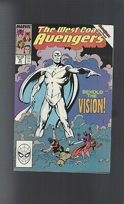 MARVEL Comics - AVENGERS WEST COST # 45 • 2£