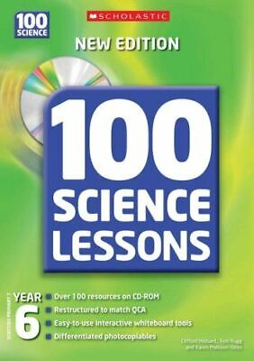 Very Good, 100 Science Lessons For Year 6 With CDRom, Hibbard, Clifford, Paperba • 3.60£