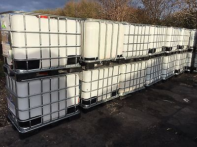 IBC Water Butt Stillage Small 600 Litre Water Container 500 Tank In HALIFAX • 85£