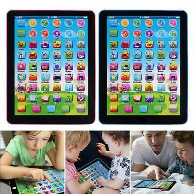 AU12.69 • Buy Baby Tablet Educational Toys Girl Toy For 1-6 Year Old English Learning Z1N9