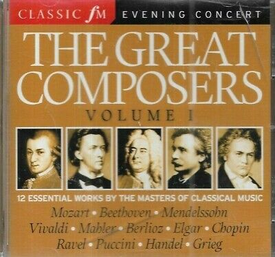 The Great Composers Volume 1 (2008) CD Album • 2.99£