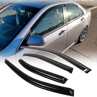 $28.49 • Buy Fits 2004 2005 06 07 08 Acura Tsx Cl8 Euro-r Rain Guard Deflector Window Visor