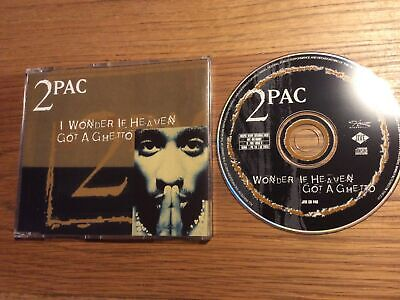 2pac - I Wonder If Heaven Got A Ghetto 4-track Cd Single  • 4.99£