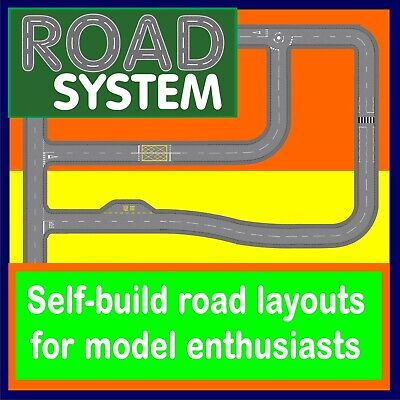 £2.45 • Buy Road System - Road Layouts For Model Railway And Car Enthusiasts, OO Gauge Scale