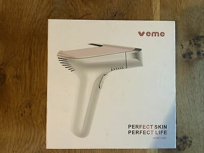 View Details Veme IPL V401 Laser Hair Removal Device With 499626 Flashes. • 80.00£