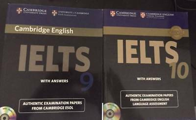 £22 • Buy Sell 100% New Cambridge IELTS Books 9 And 10 With CD