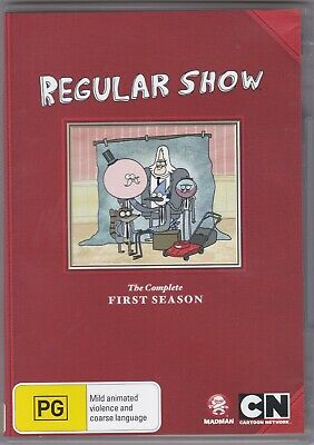 Regular Show - The Complete First Season - DVD (Region 4 PAL) • 10.99£