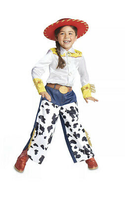 £21.78 • Buy Toy Story JESSIE Cowgirl Costume Shirt Pants Hat BooTs Girls Sz 4 Disney Store