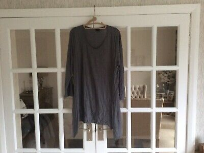 Yong Kim Grey Tunic Size 20 New Without Tags (YK Do Not Come With Tags) • 21.99£