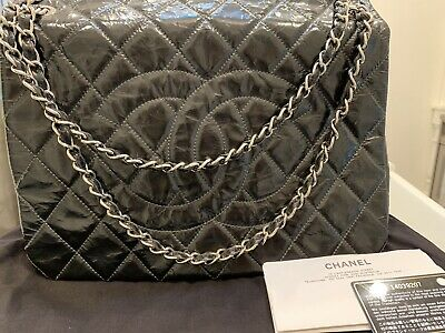 AU3000 • Buy CHANEL Bag 100% Authentic! Jumbo Size