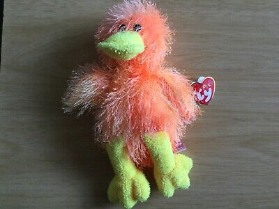 Ty Punkies, Flipflop The Duck With Tag. **Excellent Condition ** • 3.50£