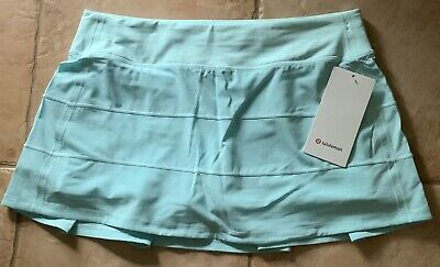 $ CDN139.54 • Buy LULULEMON Pace Rival Skirt REG 10 Aquamarine Run Tennis Golf NWT