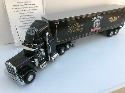 Matchbox Collectibles 1/58 Kenworth Tractor Trailer Jack Daniels Old No.7>rare  • 129.95£