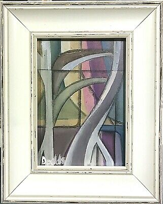 British Abstract Avant Garde St Ives School, Signed Dodds • 15£