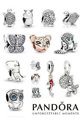 New Pandora S925 ALE Animal Sterling Silver Charm Free Pouch • 18.99£
