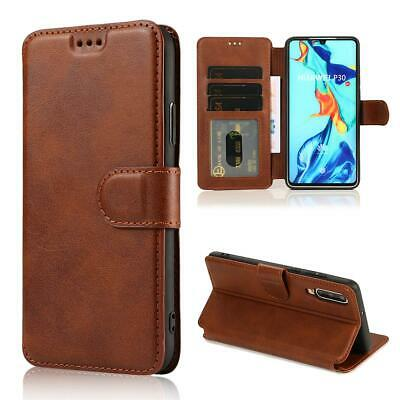 AU16.49 • Buy For Huawei P30 P20 Mate 20 Pro Lite Case Magnetic Flip Wallet PU Leather Cover