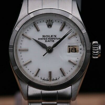 $ CDN1451.25 • Buy Authentic Rare Vintage Rolex Lady Datejust Ref 6519 Automatic, Rl_530653