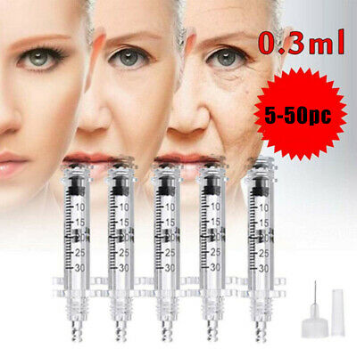 $10.49 • Buy For Hyaluronic Acid Pen Painless 0.3ml Ampoule Head Wrinkle Removal Anti-Wrinkle