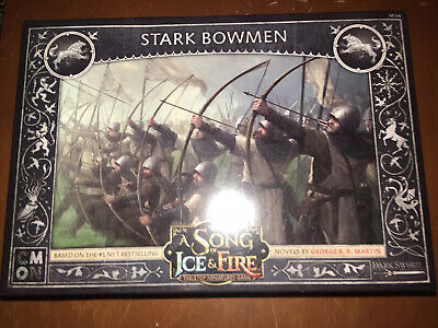 A Song Of Ice And Fire Miniatures Game - Stark Bowmen • 5.80£