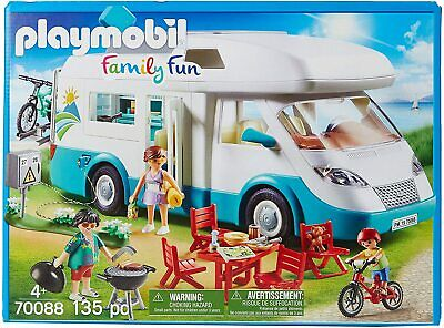 Playmobil 70088 Family Fun Toy Camper Van With Furniture • 57.99£
