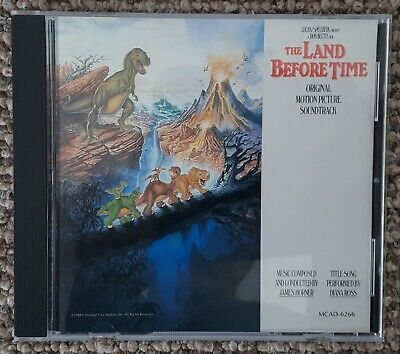 James Horner - The Land Before Time (Rare MCA CD) • 30£