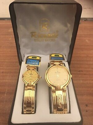 Ricardo His And Hers Gold Colour Watches • 7.50£