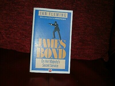 On Her Majesty's Secret Service By Ian Fleming 1989 James Bond 007 Coronet Books • 4£