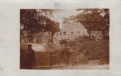 Original Postcard New Memorial Hall Malpas Near Chester Cheshire  • 2£