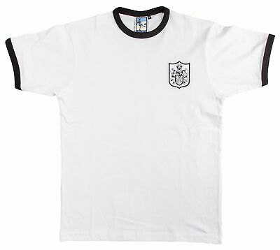 £21 • Buy Fulham 1960s Retro Football T Shirt Embroidered Crest S-XXL Free UK Delivery