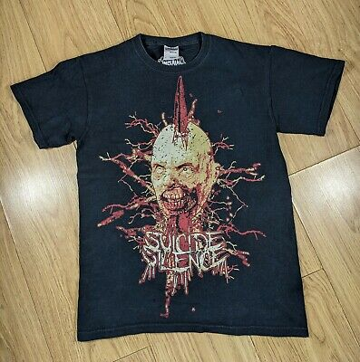 Vintage Suicide Silence T-Shirt, S, Black, Double Sided, Imperial Gildan, Doctor • 19.99£